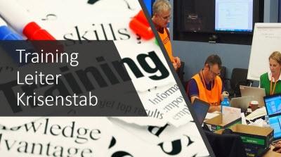 Schulung Leiter Krisenstab / Training Leiter Krisenstab